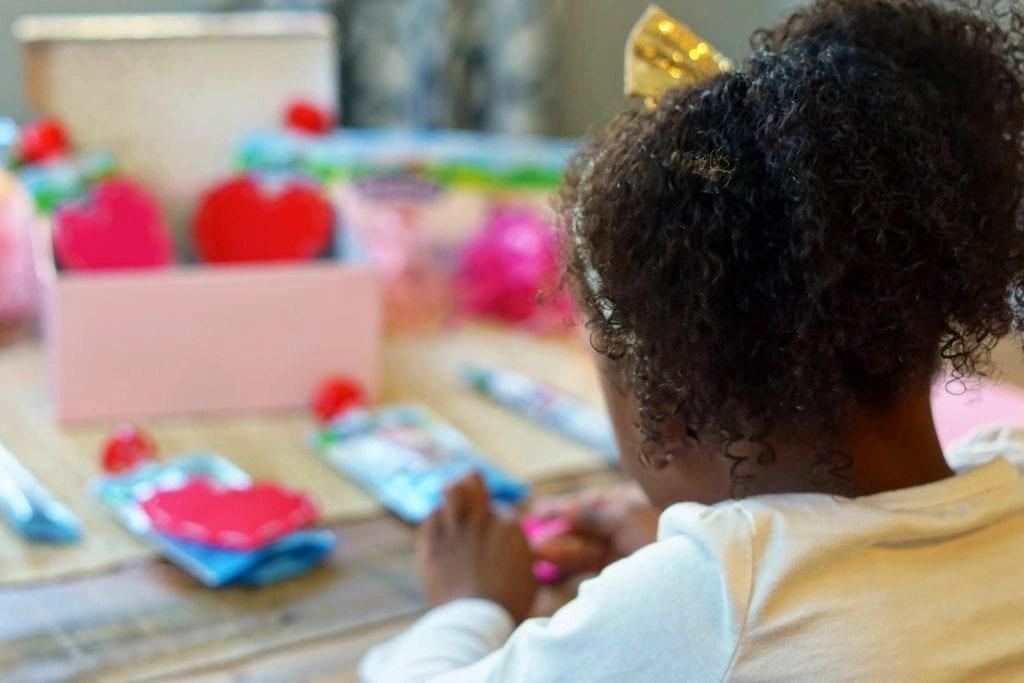 Valentines kids craft