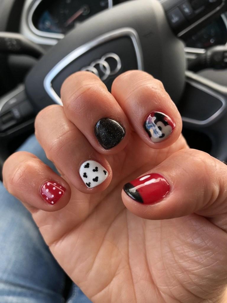 Disney Themed Nail Art- Temecula Nail Salon