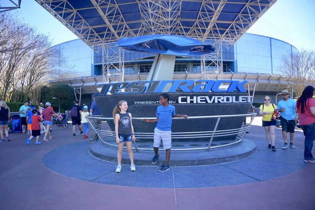 Epcot fast pass - Test Track