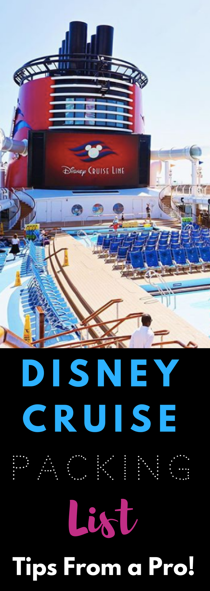 The ULTIMATE Disney Cruise Packing List. This is the BEST list for families and it includes a FREE printable to make packing easy! #disneycruise #disney #cruise #packinglist