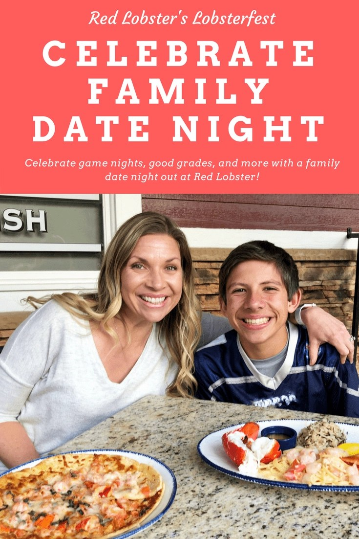 AD- Celebrate family date night out at Red Lobster. Red Lobster's Lobsterfest is the perfect event to celebrate any occasion. #lobsterfest #RedLobster #SeafoodLover