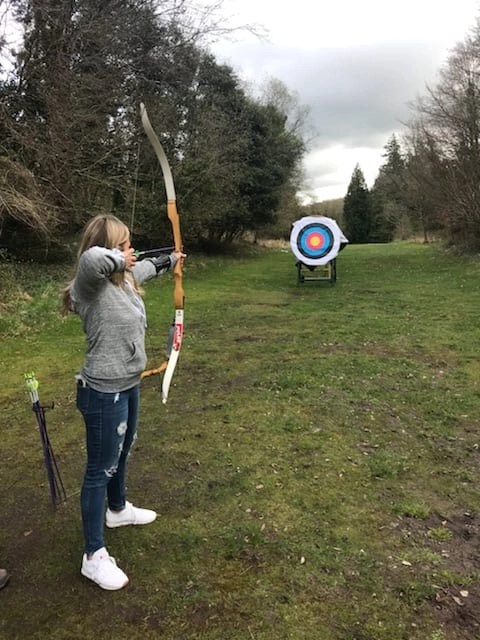 Archery at Dromoland Castle