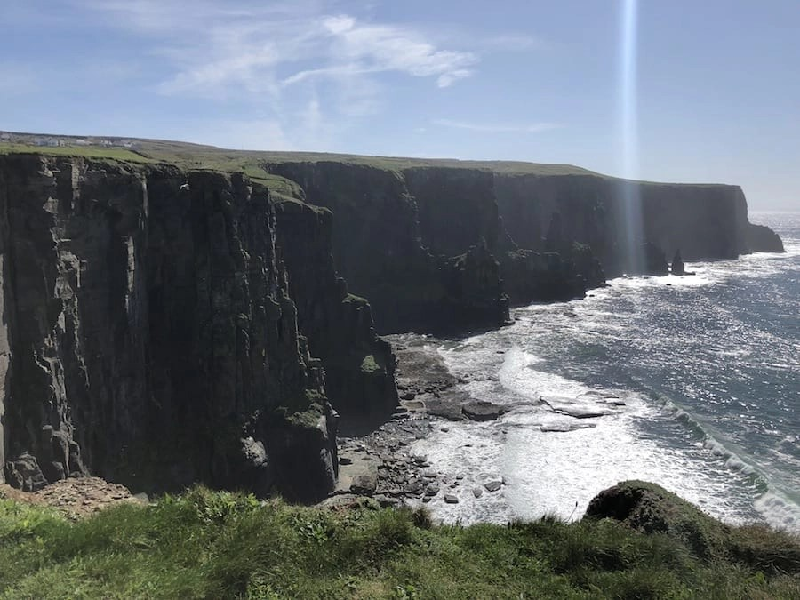 View from Pat's View Cliffs of Moher