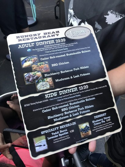 Disneyland Dining Reservations - Fantasmic