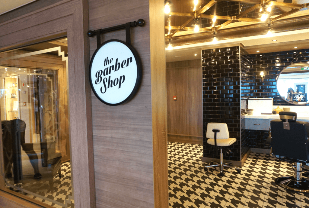 Norwegian Bliss Things to Do - Barber Shop