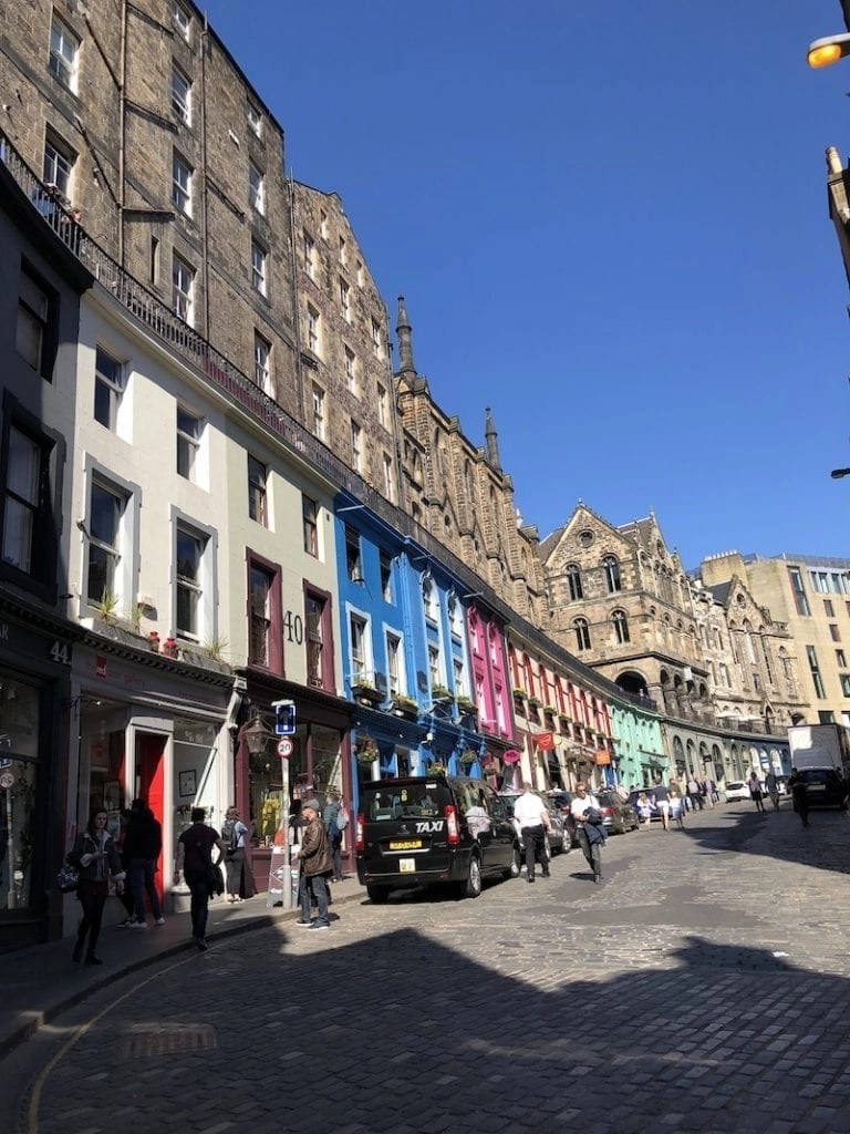 the Inspiration for Diagon Alley in Edinburgh