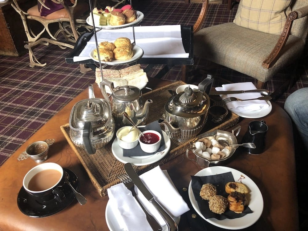 High Tea at the Prestonfield