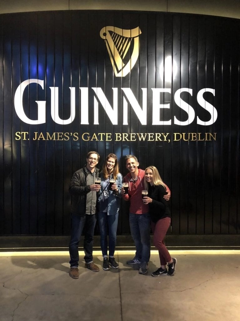 One Day in Dublin? Stop by the Guinness Storehouse.