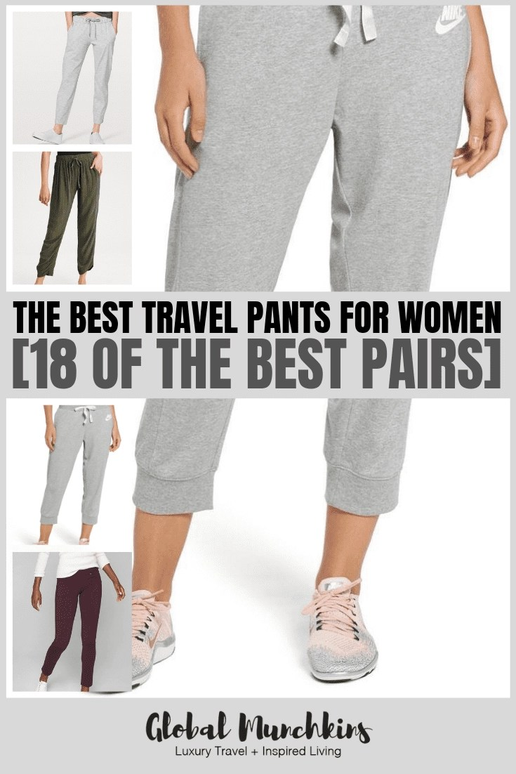 Let's check out some of the best travel pants for us ladies! #travelpants #ootd #style #fashion #travel #traveltips