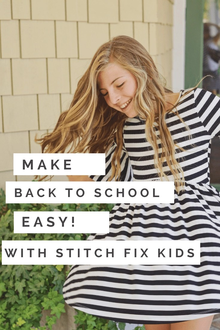 See how Stitch Fix Kids is revolutionizing how parents go BTS Clothes shopping with their kids. Stitch Fix Kids is affordable, super easy, and convenient too! #BTSClothes #BackToSchool #KidsFashion #BTSClothesShopping #BackToSchoolDeals