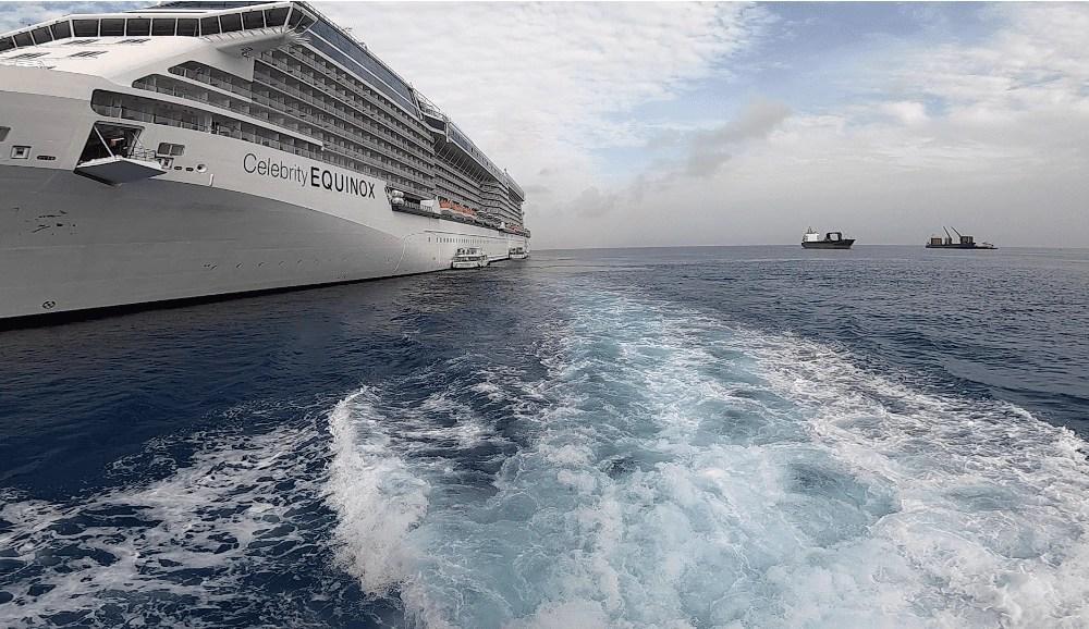 Celebrity Equinox - Grand Cayman Sting Ray City Tours