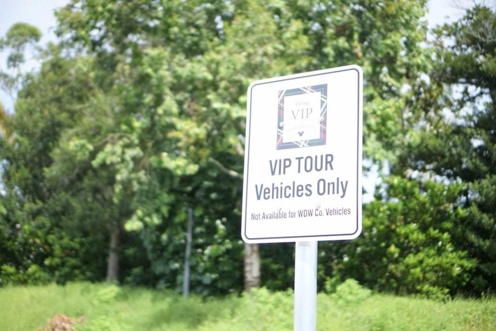 Disney VIP Tours Parking Spot