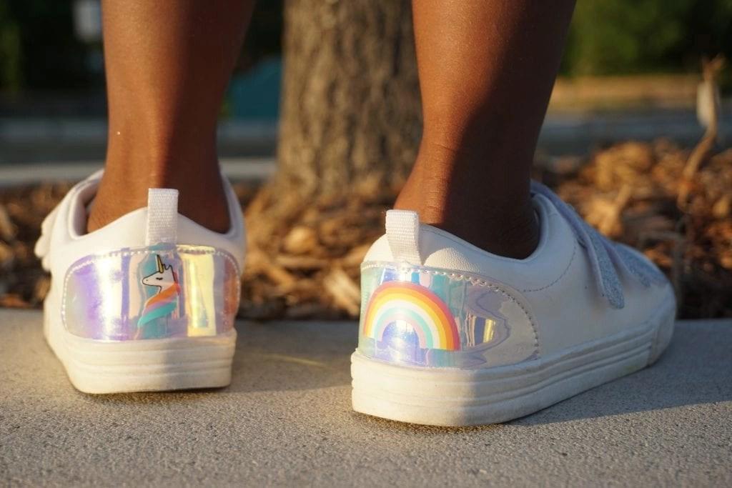 OshKosh B'gosh makes the most adorable kids shoes.