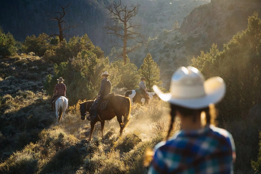 Best Dude Ranch Wyoming