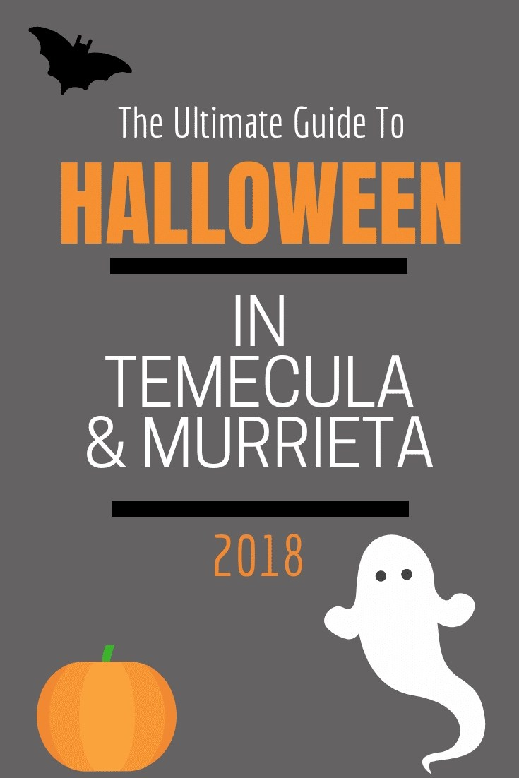 Looking for fun Halloween Spooks. We have got the complete guide to Halloween in the Temecula Valley!
