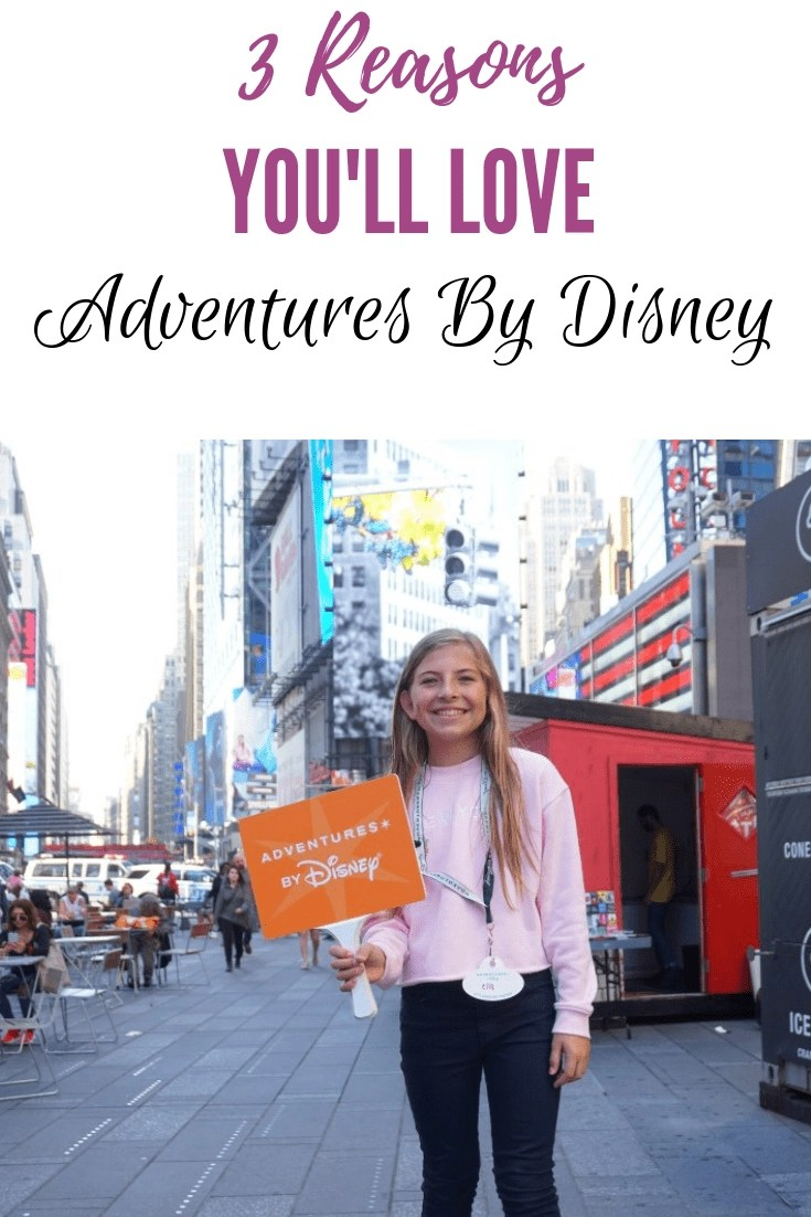 3 Reasons You'll Love Adventures by Disney! From the VIP Treatment to the amazing itinerary, check out why Adventures by Disney has to be on your bucket list! #adventuresbydisney #disney #nyc
