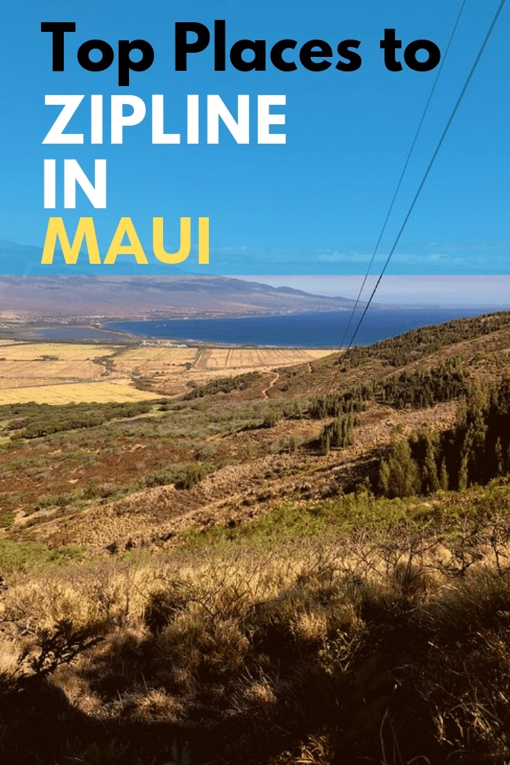 Zipline Maui - A Guide to The Best Ziplines in Maui - Spend a few hours on a zipline maui tour and you might never want to come down. It's exhilarating, beautiful, and so much fun to zipline in Maui - #maui #zipline #ziplinemaui