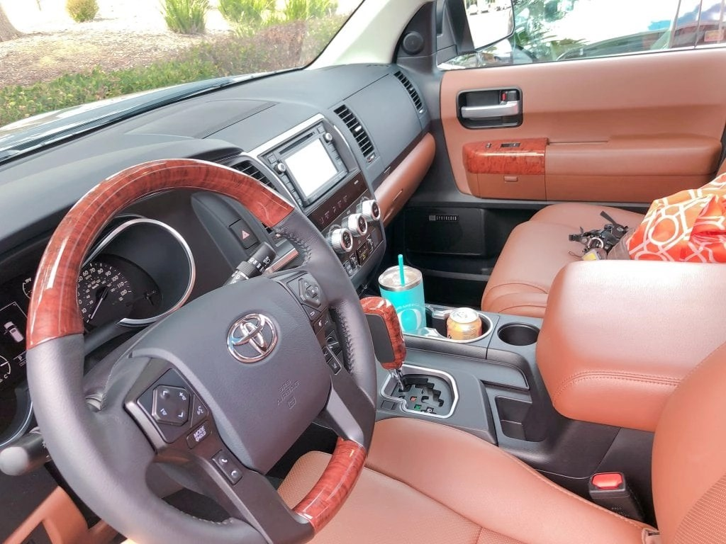 Have you seen the NEW Toyota Sequoia? It's the perfect family vehicle with so many amazing features!! #partner #Toyota @ToyotaUSA #Sequoia #LetsGoPlaces #AGirlsGuidetoCars @AGirlsGuidetoCars