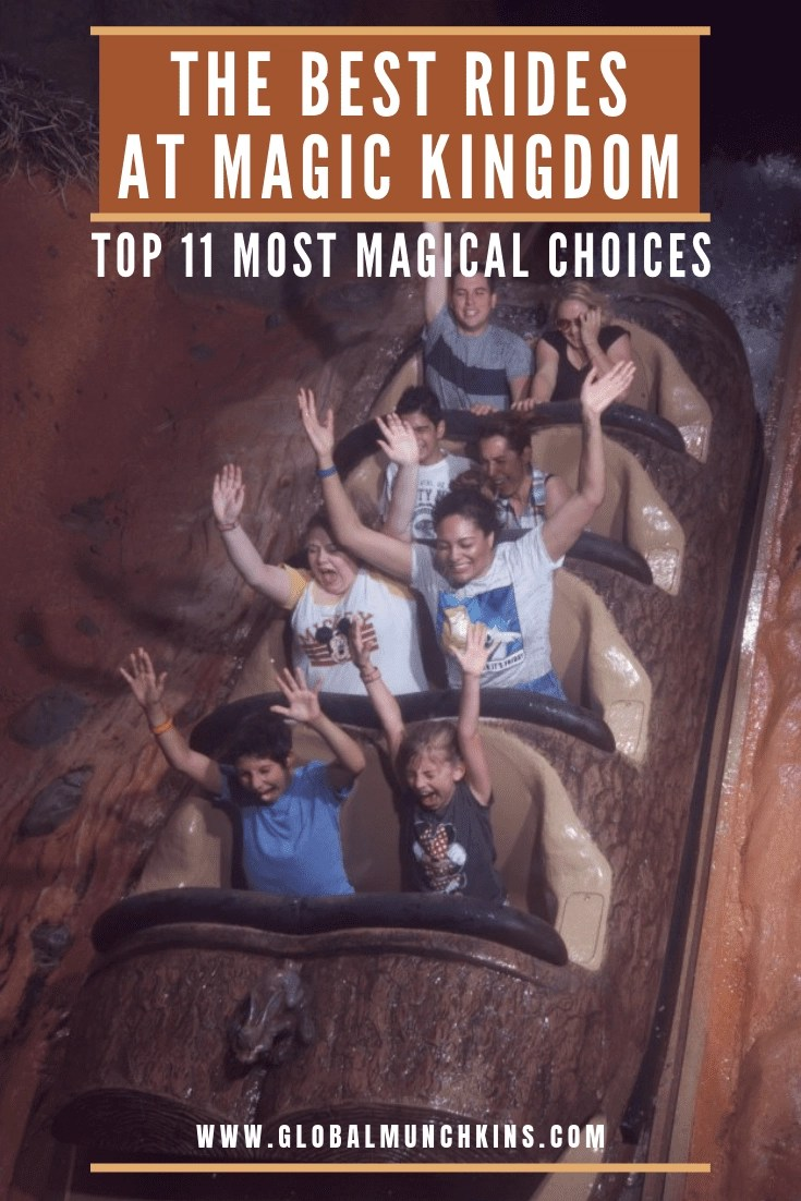 Here's our top picks and a variety of other rides that fit your groups likes it will still be an absolutely magical day! #magickingdom #rides #guide #disneyworld #disney #guide #traveltips #travel #familyvacation #vacation