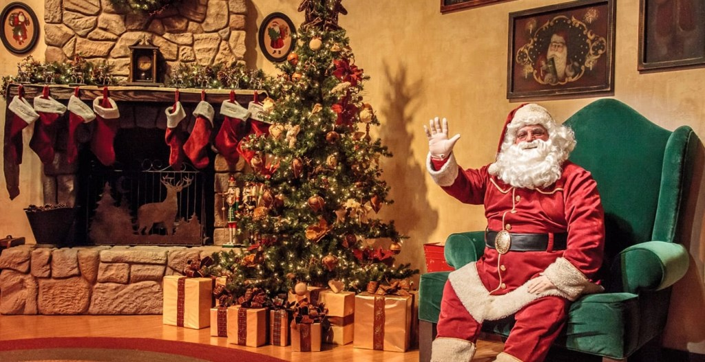 Knotts Merry Farm Santa