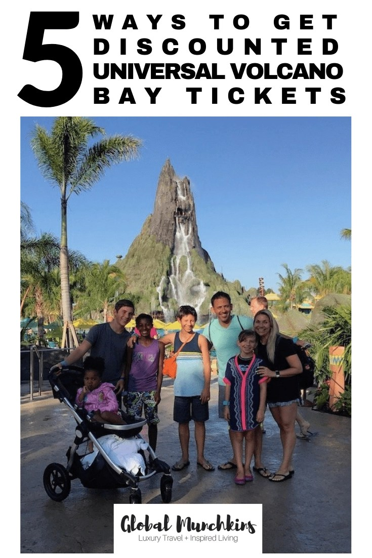 Florida is known for a lot of things but two things that are sure to come to mind – sunshine and theme parks. Combine the two and what do you get? Waterparks! Now, there is a new Universal Studios Waterpark, Volcano Bay! That being said, tickets are not cheap for volcano bay, so here are 5 Ways to Get Discounted Volcano Bay Tickets. #traveltips #universalvolcanobay #volcanobay #discounttickets #save #familyvacation #vacation