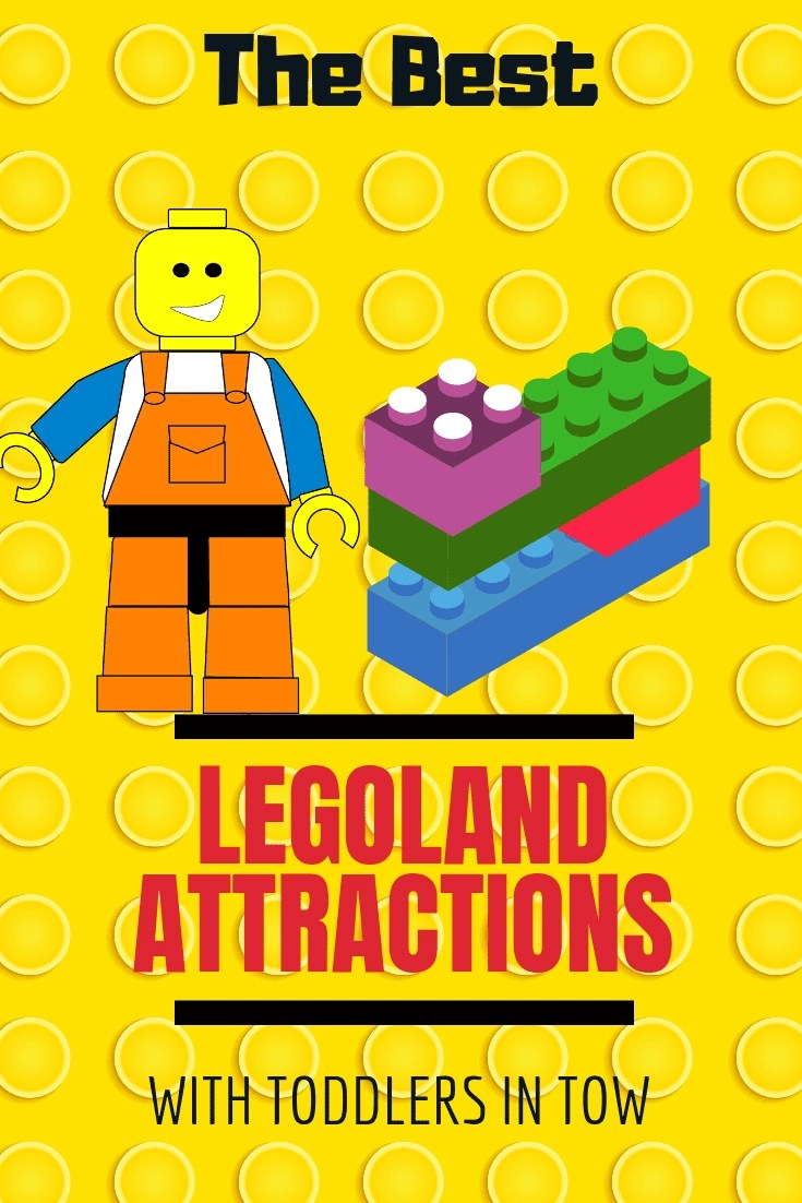 The 7 Best Legoland Attractions to enjoy with a toddler in tow! Here is our inside scoop of the seven best LEGOLAND attractions for your family vacation. There is a ton to do at Legoland so here is the Best of the Best. #legoland #legolandca