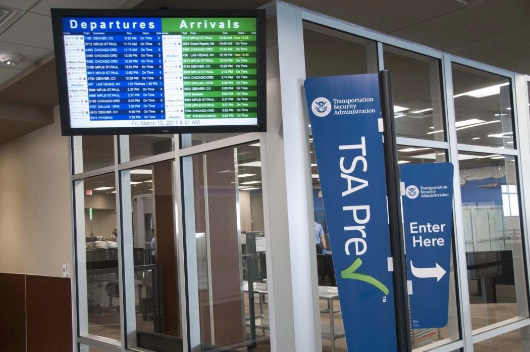 TSA Precheck with Kids