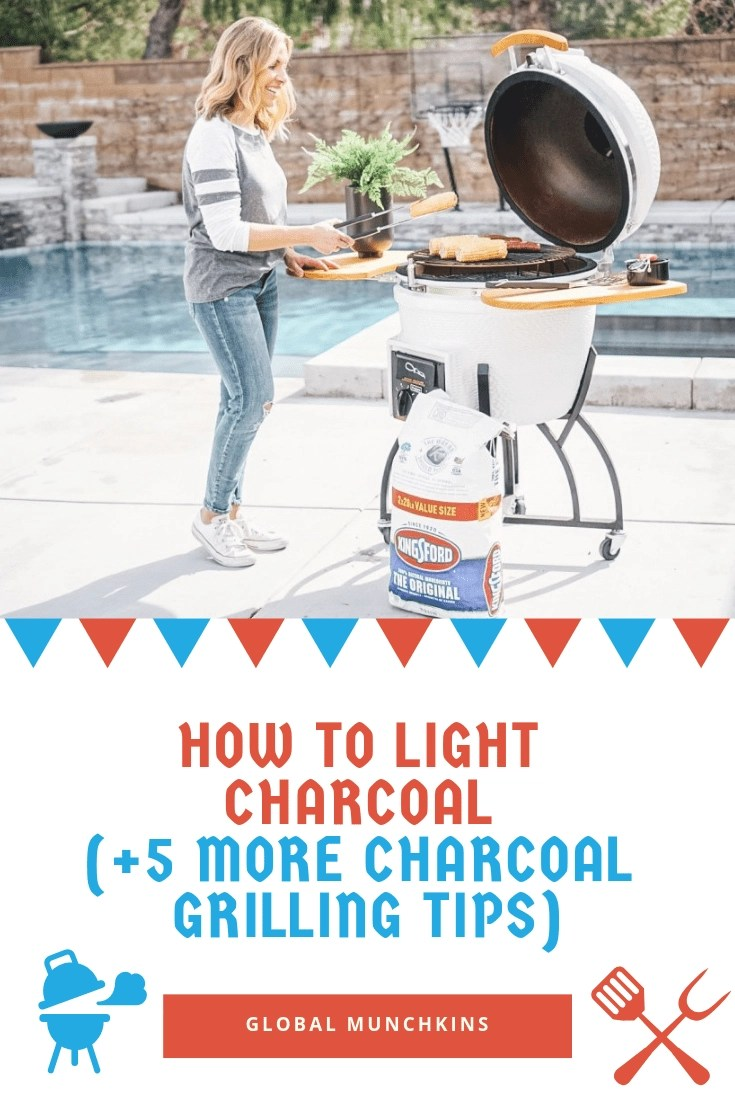 How to Light Charcoal (+5 more charcoal grilling tips)