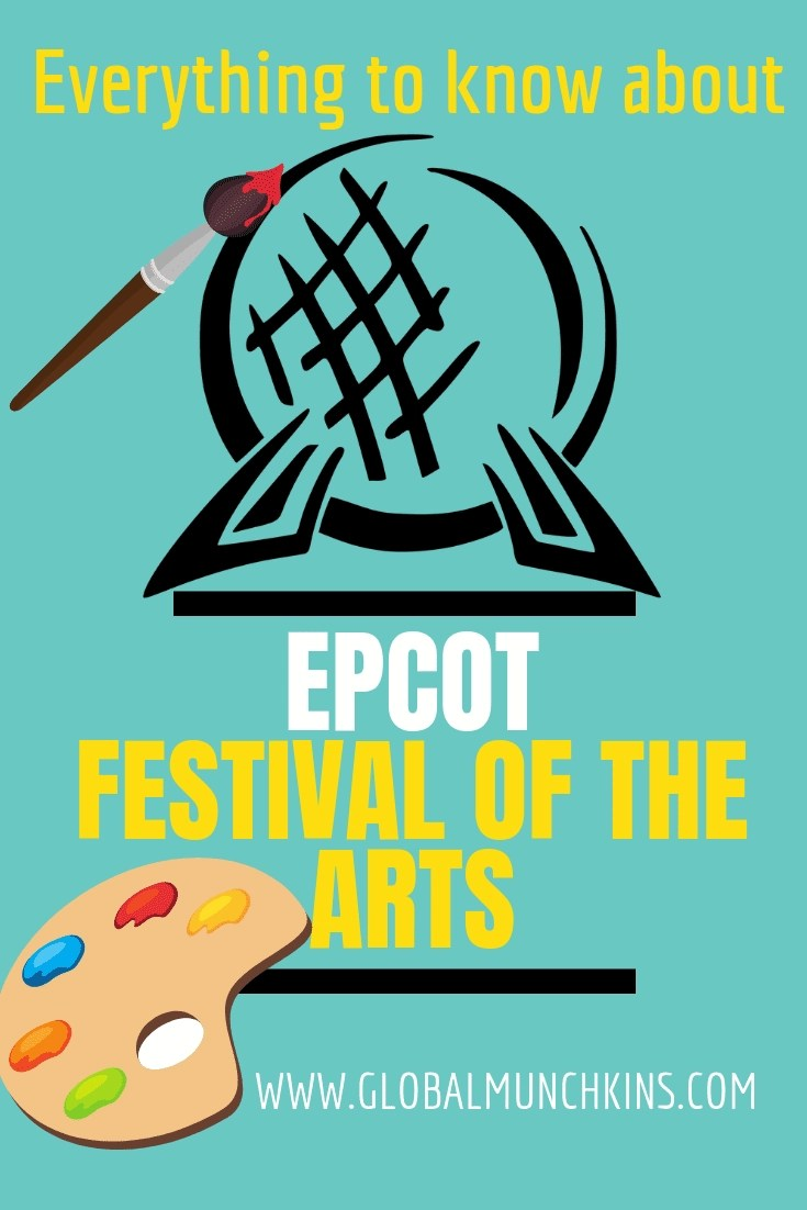 The 2019 Epcot festival of the arts is upon us. Here is everything to know about this Incredible one of a kind art festival. #Epcot #disneyworld