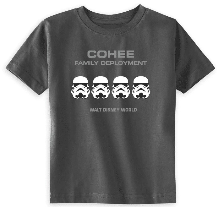 Star Wars Galaxy Edge Family Shirts
