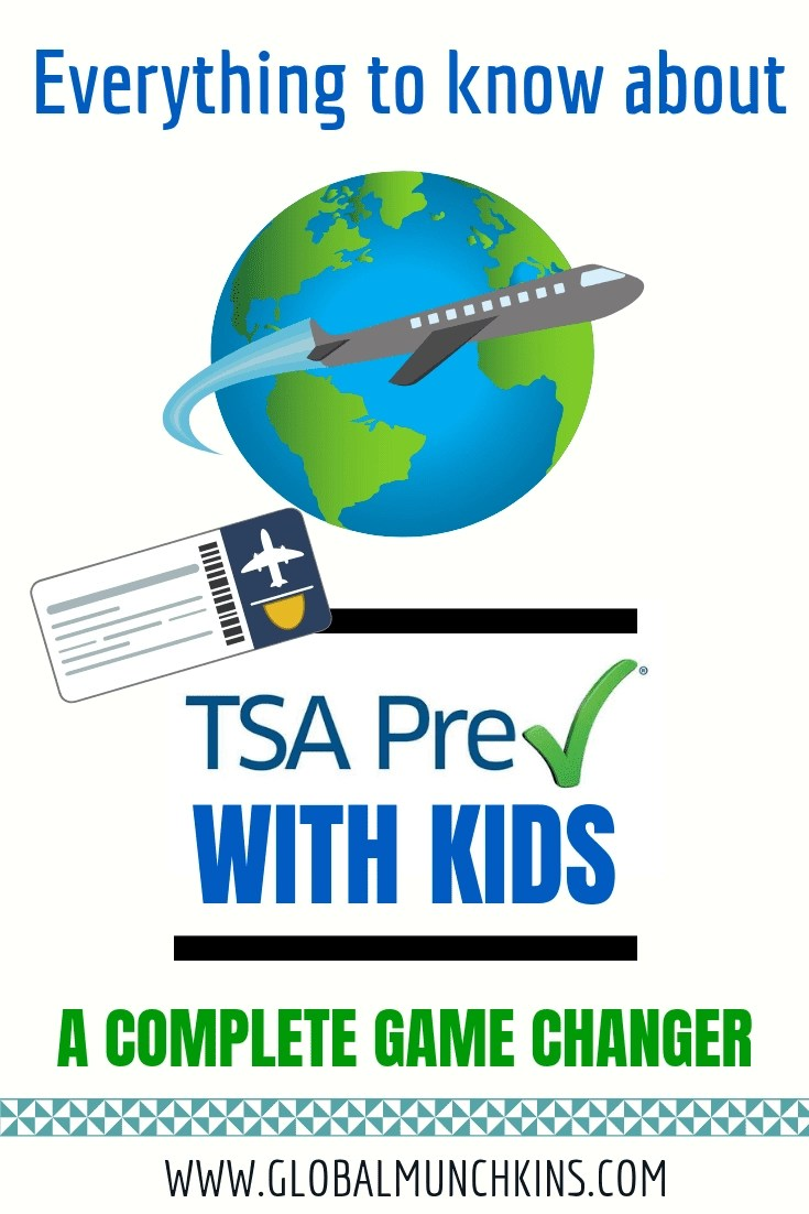 TSA Precheck with kids, a Complete Game Changer! To save you the hours of time I wasted in Security lines at the airport, I am breaking down everything about TSA Precheck with kids! #traveltips #airport #tsa