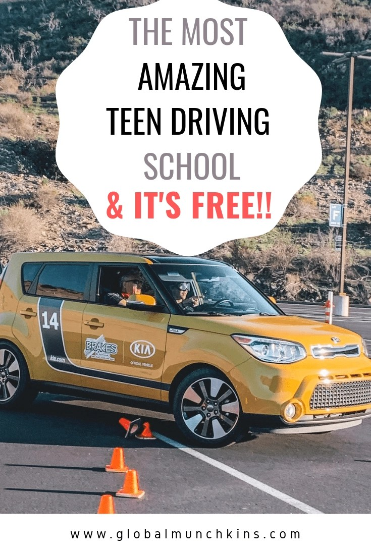 The Most Amazing Teen Driving School for your Child & It's Free to Attend! This Teen Driving School isn't here to teach your kids the basics of driving, its for some serious real-world experience. Check out why you and your teen will love it. #teendriver