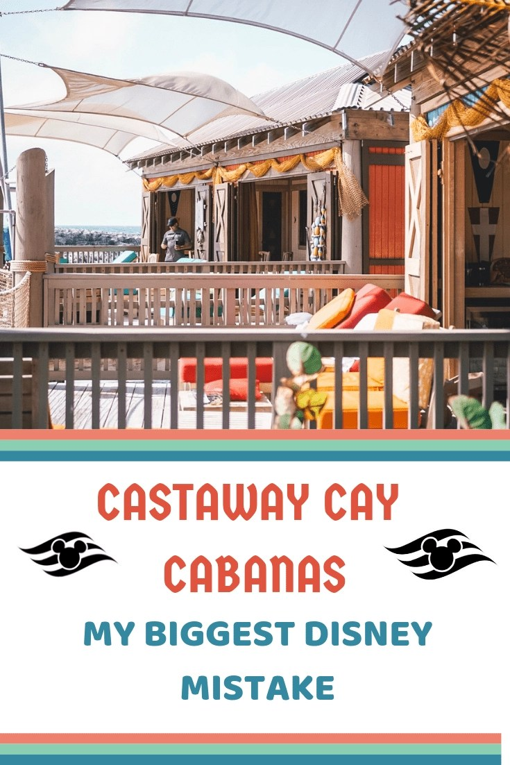 Castaway Cay Cabanas - Why Not Booking One was a Huge Mistake! Aster 9 visits on Castaway, I realized my biggest mistake for all my Disney Cruises was not booking one of these amazing Castaway Cay cabanas. Here's Why! #disneycruise #castawaycay