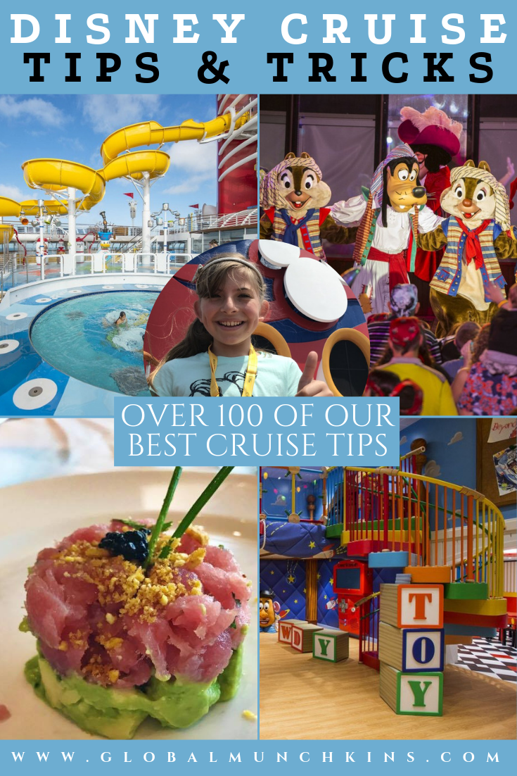 Here top 100 tips you need to know for your Disney Cruise. From planning to embarkation to Castaway Cay to the sad ending of Debarkation we have got the best Disney Cruise Tips to make your sailing a breeze. #disney #disneycruise #cruisetips #familyvacation #vacation #traveltips