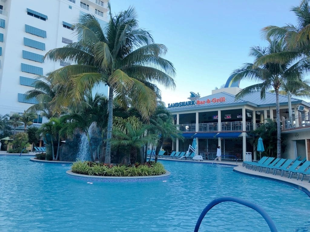 Margaritaville Hollywood Beach FL Pool