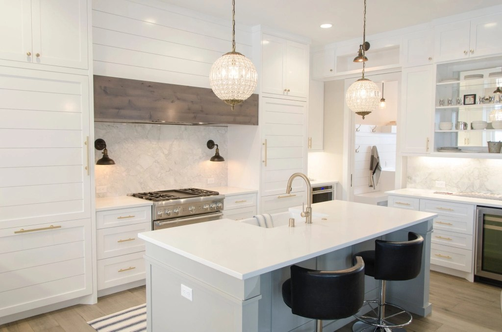 Gorgeous White Kitchens