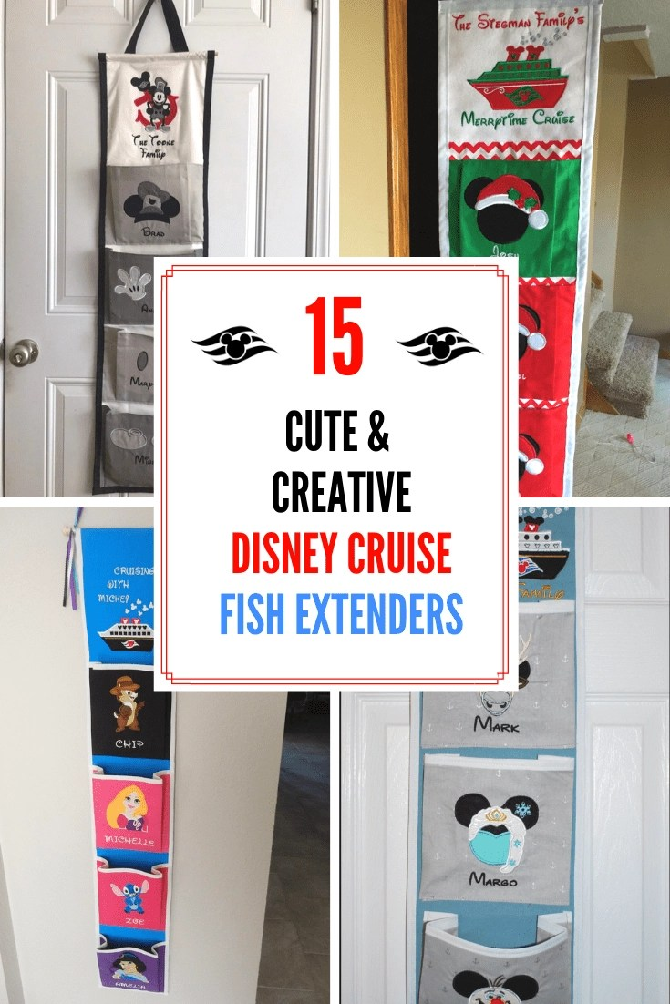 15 Cute & Creative Disney Cruise Fish Extenders