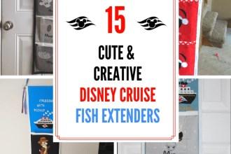 15 Cute & Creative Disney Cruise Fish Extenders