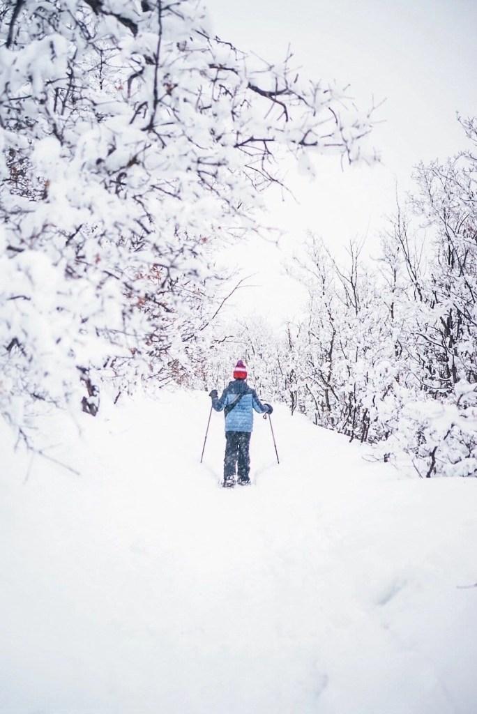 Snowshoeing in Heber
