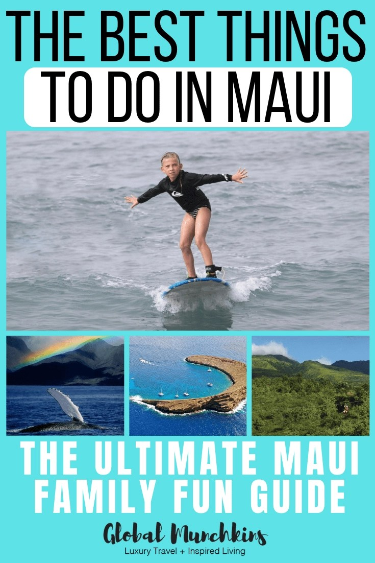 I have put together the ultimate Maui family fun guide. Full of things to do in Maui with or without kids on your next visit. #family #familyvacation #fun #vacationideas #vacation