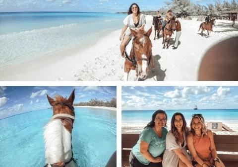 Half Moon Cay Horseback Ride