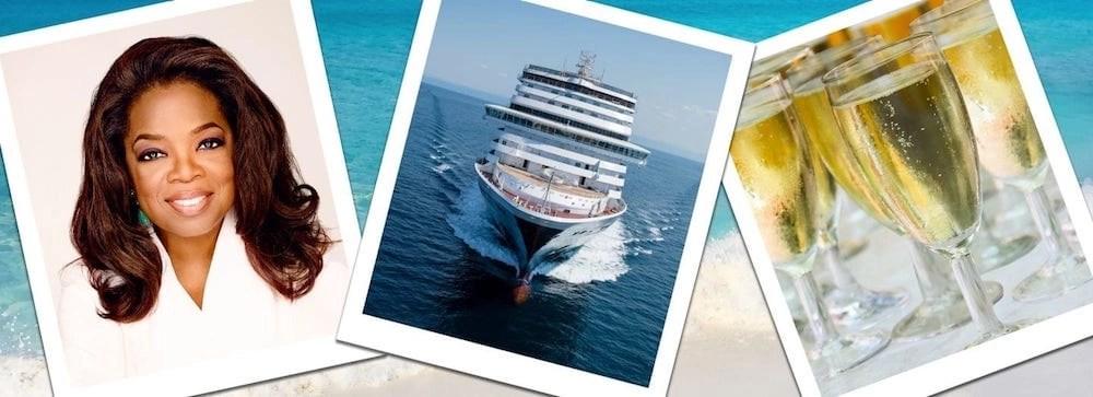 Oprah Dedicating Nieuw Statendam (photo by HAL Cruises)