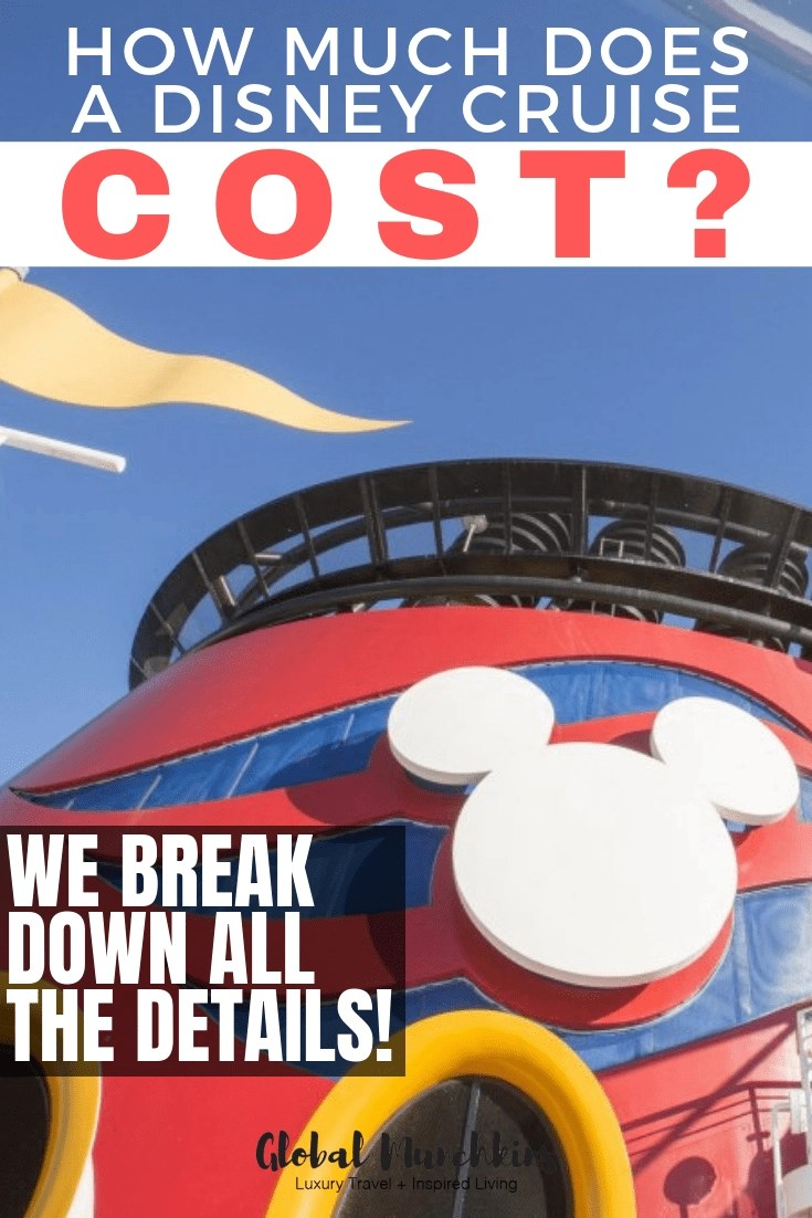 How much does a disney cruise cost? Disney cruises are definitely one on the premier ships at sea and with that does come with a premium price. So, we are here to break down how much a Disney cruise costs, what's included, and is it worth it compared to other cruises. #disney #disneycruise #cruise #cruisetips #traveltips #travel