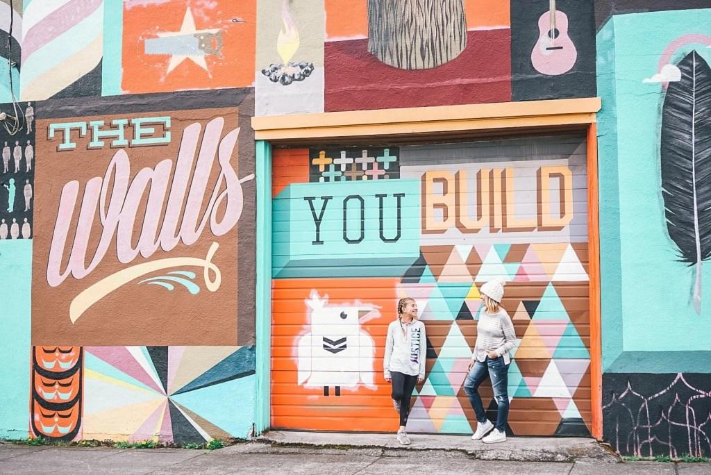 Walls of Portland