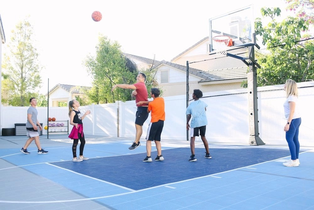 Our backyard court has been one of the BEST parenting decisions we have ever made.
