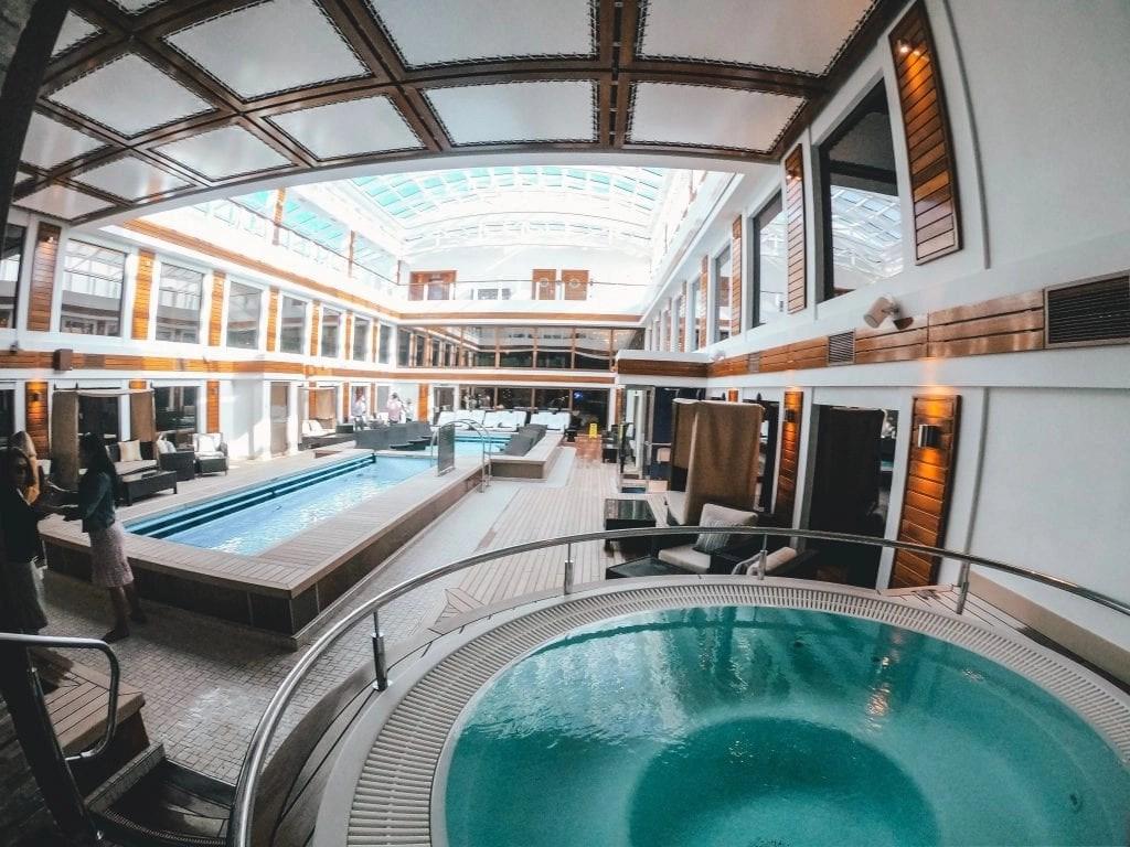 Norwegian Joy Haven Indoor Pool