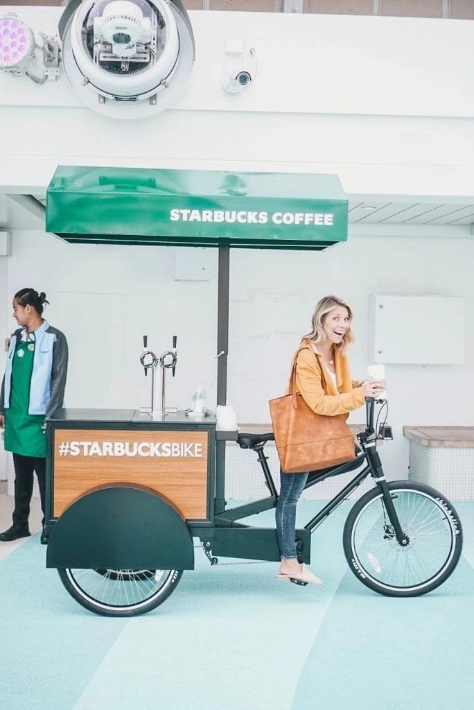NCL Joy Starbucks Nitro Bike