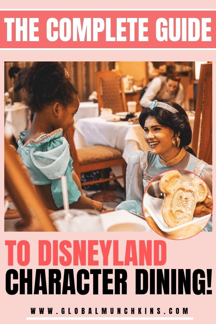 There are four super fun character dining experiences at Disneyland, and unfortunately, they can get pricey, so we break down which is the best option for your family. #disney #disneyland #dining #characterdining #familyvacation #guide #travel #traveltips #trip #travelexperience