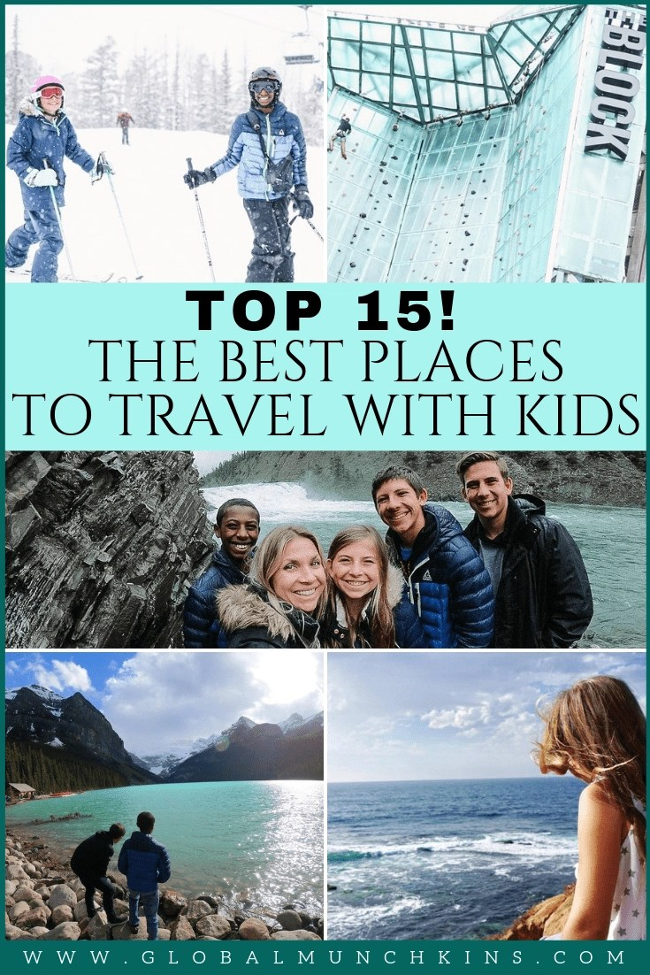 Finding the perfect place to spend your family vacation can be a daunting task. So, when I come across kid-friendly destinations that I think are incredible finds I get super excited to share them. Here are the following 15 Best Places to Travel with Kids. Get ready to take notes, these places are an absolutely amazing adventure with kids. #familyvacation #vacation #adventure #traveltips #travel #travelwithkids #wanderlust #traveldestinations