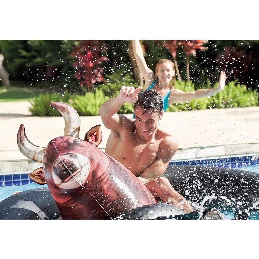 Inflata-a-Bull Pool Toy
